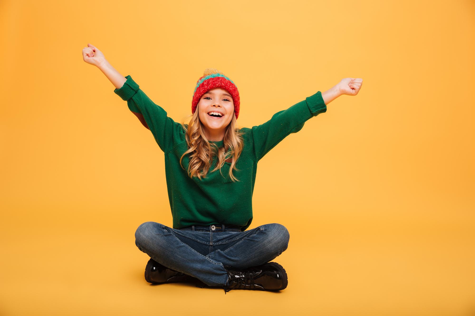 Kindereinfach_Onlinekurs_glückliches_Mädchen